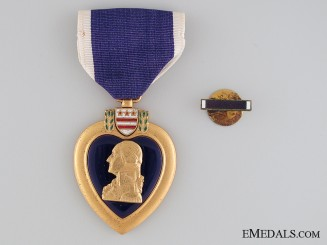 A WWII American Purple Heart to Jerome James