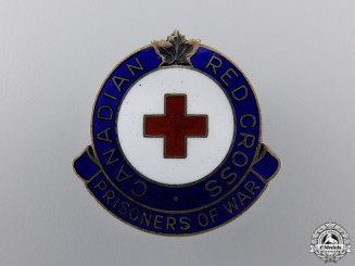 Canada. A Red Cross Prisoners of War Badge, c.1945