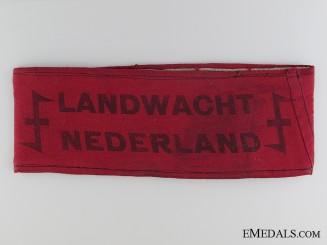 A WWII Dutch Landwacht Armband