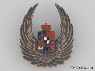 A WWII Romanian Air Force Observer's Badge