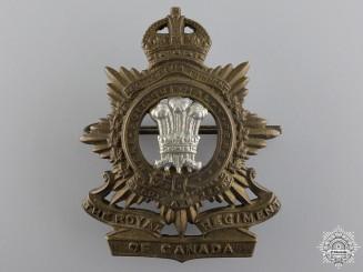 A WWII Royal Regiment of Canada Cap Badge