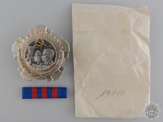 A Yugoslavian Order of Labour; 3rd Class