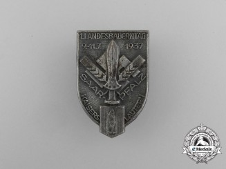 "A 1937 Region Saar-Pfalz ""Day of the Farmers"" Badge"