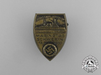 "A 1933 Schleswig-Holstein ""Day of the Marine"" Badge"