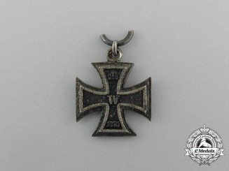 Germany, Imperial. A Miniature 1870 Iron Cross