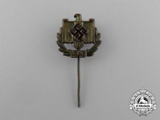A 1941 NSRL Achievement Award Stick Pin; Gold Grade