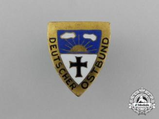 An Eastern German's Association Membership Badge; Type II