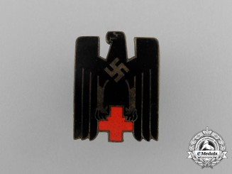 A DRK German Red Cross Membership Badge