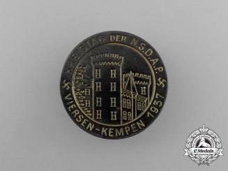 A 1937 NSDAP Biersen-Kempen District Council Day Badge