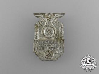 A 1934 SA Sportfest of the Barmstedt Standarte 265 Badge