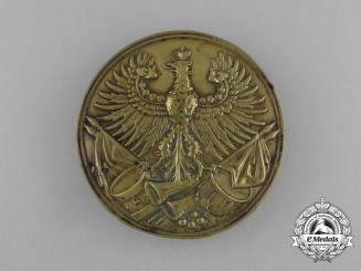An 1800's Prussian Cartouche Insignia