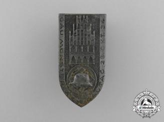 A 1934 Gau Münster Regional Council Day Badge