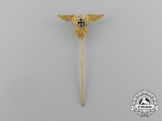 A Second War German Veteran's Society Membership Stick Pin