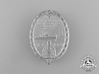 A 1935 NSKOV Kiel Remembrance Day for Front Fighters and War Veterans Badge