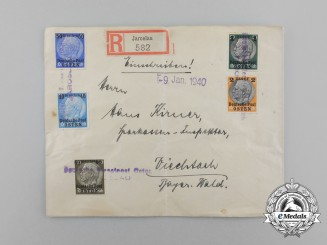 A 1940 Wartime Envelope Sent from Occupied Poland