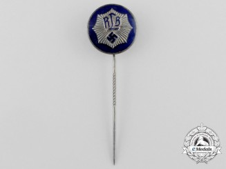 A RLB (National Air Raid Protection League) Membership Stick Pin; Second Pattern by Hoffstätter