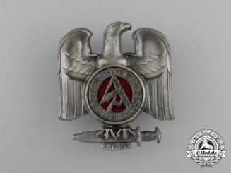 A Fine Quality 1935 Swabian SA Brigade 86 Rally Badge by Carl Poellath