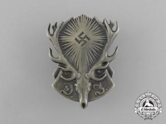 A Fine Quality DJ (German Hunting Association) Membership Badge