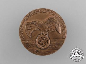 A 1938 Pommern-Stettin Meeting Badge