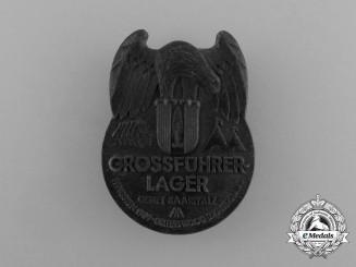 "A 1939 Region Saarpfalz ""Great Leader Camp"" Badge"