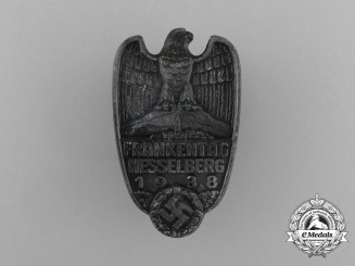 """A 1938 """"Day of the Franken"""" in Hesselberg Badge by C. Salmberger"""