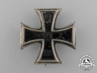 An Iron Cross 1914 First Class by the German Royal Mint in Berlin