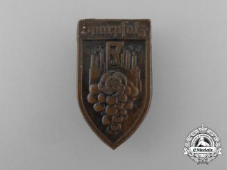 A Third Reich Period KDF Saarpfalz Event Badge