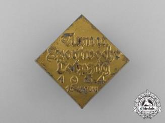 A 1934 Leipzig Gymnastics and Sports Week Badge