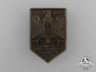 A 1934 Aachen Regional Gymnastics Festival Badge