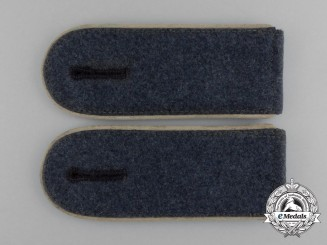 A Mint and Unissued Pair of Luftwaffe Hermann Goering Division EM's Shoulder Boards