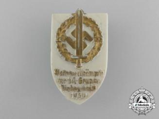 A 1939 SA-Group Niederrhein Sports Competition Badge by Richard Sieper & Söhne