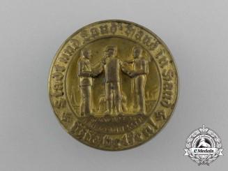 A 1933/34 Kurhessen Region WHW (Winter Relief of the German People) Donation Badge