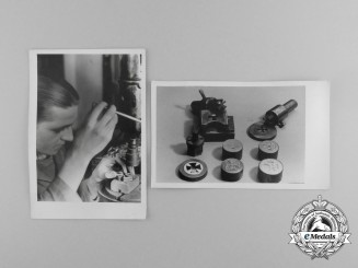 A Grouping of Two Wartime Deschler Factory Photographs during EK 1939 Production