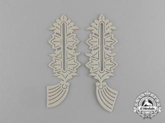 A Mint Set of Second War German General's Collar Tab Templates