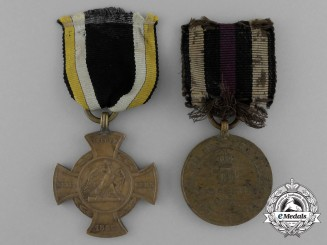 Two Prussian War Service Medals