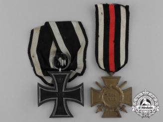 Two First War German Imperial Awards