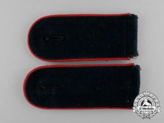 A Mint Pair of of Wehrmacht Artillery Enlisted Man's Shoulder Boards