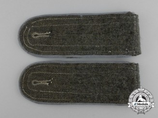 A Pair of Wehrmacht Transport Troop Enlisted Man's Shoulder Boards