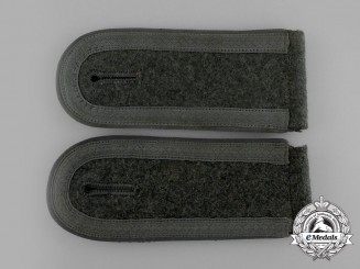 A Pair of Wehrmacht Transport Troop Unteroffizier Rank Shoulder Boards