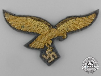 An Unissued & Mint Luftwaffe General's Breast Eagle