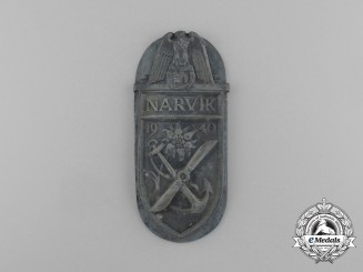 A Uniform Removed Narvik Campaign Shield