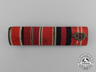 Germany, Wehrmacht. A German & Finnish Ribbon Bar