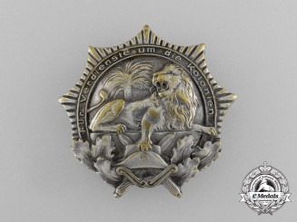 An Imperial German Colonial War Veterans Organization Badge