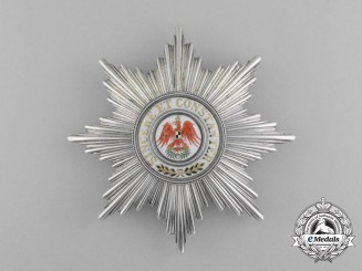 An Superb 1850's Prussian Red Eagle Order Grand Cross by Friedlander