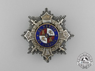 A Second War Period Spanish War Cross, Type I (1938-1942)