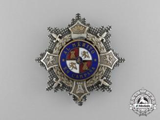 A Second War Period Spanish War Cross, Type I (1938-1942)