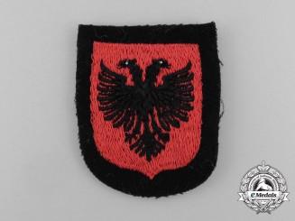 A Mint Waffen-SS Albanian Foreign Volunteer Sleeve Shield