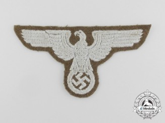 A Second War German/Eastern Territories EM/NCO's Sleeve Eagle