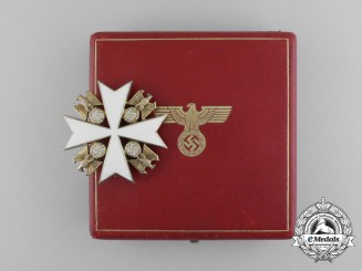 A Second Class Order of the German Eagle  by Godet & Co. in its Original Case of Issue