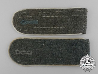 A Pair of Wehrmacht Infantry Enlisted Man's Shoulder Boards